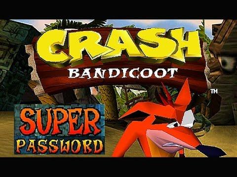 PS Crash Bandicoot Super Password 100 Percent Complete