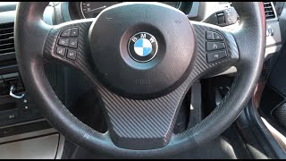 DIY removal of BMW steering wheel in under 2 minutes