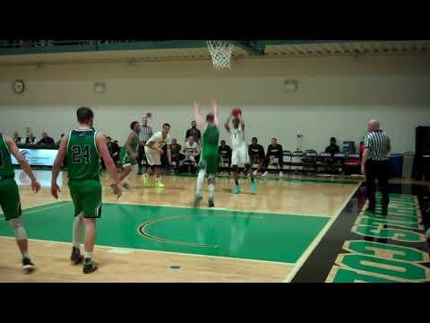 Nichols College men's basketball - CCC Championship vs Endicott 2-24-18