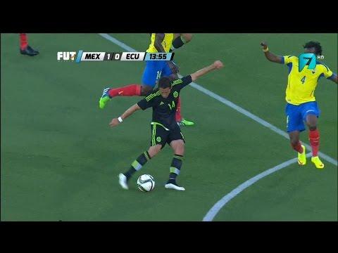 MEXICO VS ECUADOR 1 - 0 Amistoso  28 03 2015 Gol