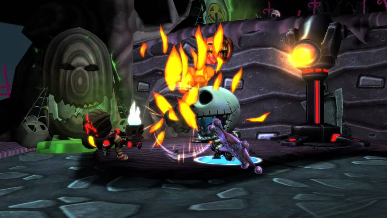 disney universe nightmare before christmas dlc trailer 360 pc ps3 wii - The Nightmare Before Christmas Games