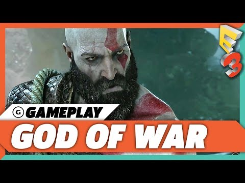 God of War Story Gameplay Trailer | E3 2017 Sony Press Conference