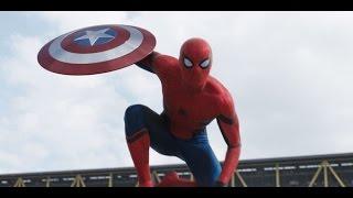 Spider-Man/ Peter Parker Fight Scenes (CA: Civil War)
