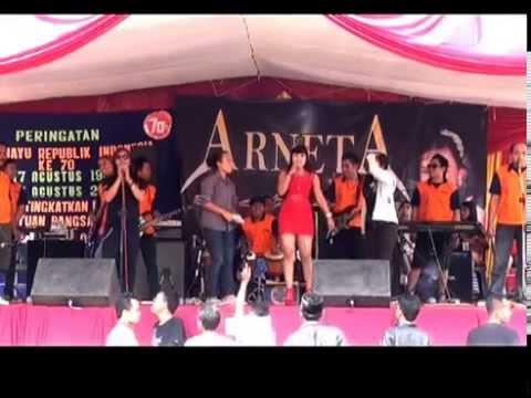 ARNETA RIA...,,Bunga surga..Winda & leo, Live in kdw 16-08-2015