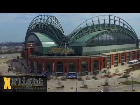 Milwaukee Wisconsin Aerial Drone Video