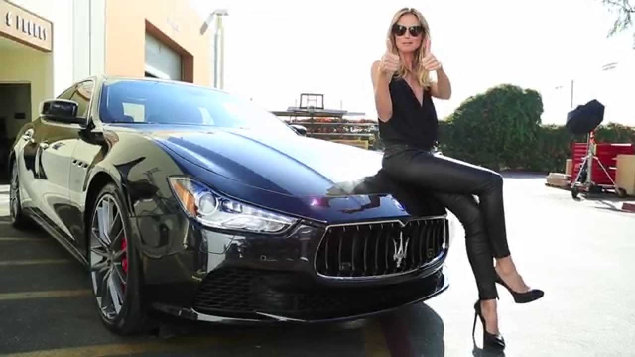 maserati in 50th anniversary sports illustrated swimsuit