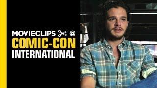 Comic-Con Video: 'Game of Thrones' Kit Harington Interview - THR