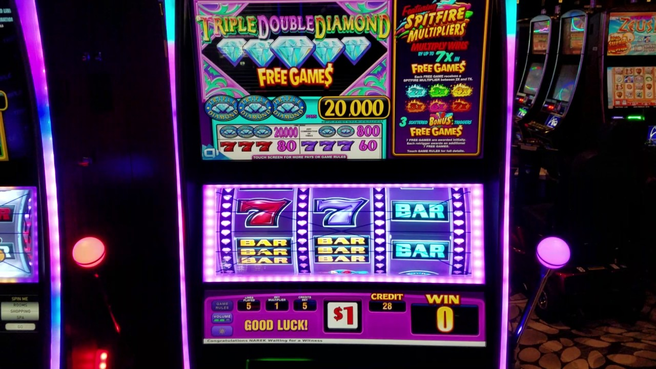 Diamond Triple Slots Machine