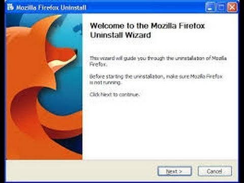 How To Uninstall Firefox in Windows 7