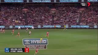 Motlop kicks a sensational goal v Swans (Semi Final 2017)