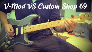 Tim Shaw V-Mod Single-Coil vs. Custom Shop 69 (Direct Comparison)