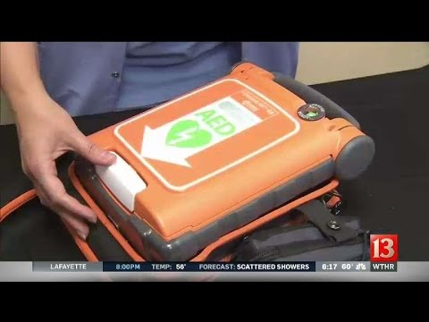 State police AED donation