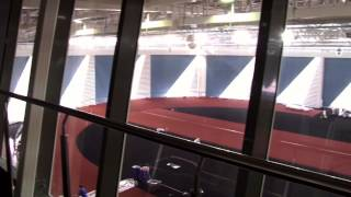Легкоатлетический манеж на Крестовском - последние штрихи