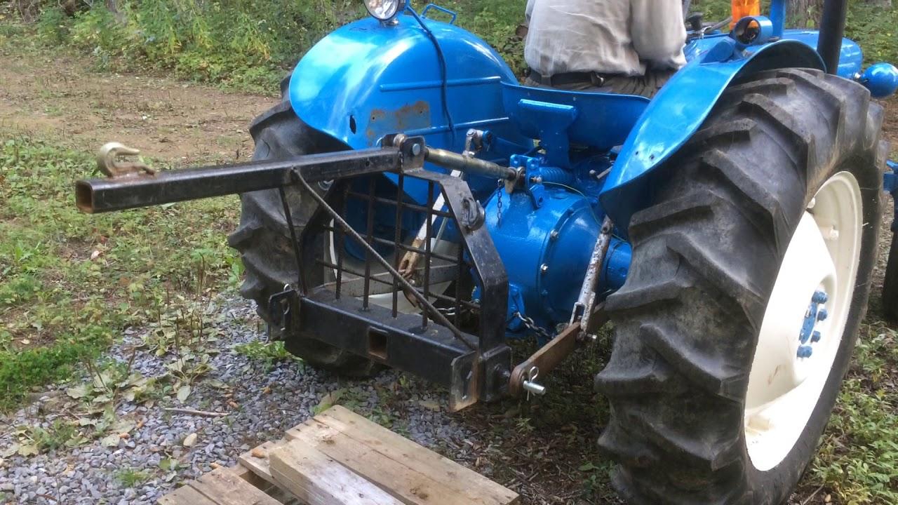 Dexta Tractor Hydraulics : Fordson dexta hydraulic problem youtube