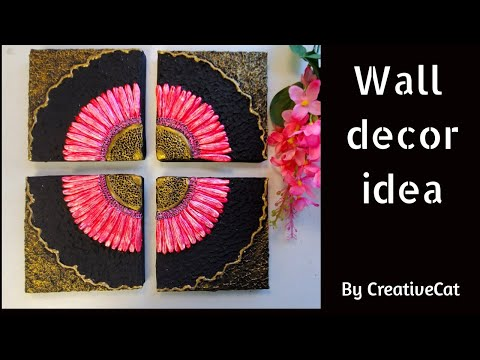 Wall Decor/Best out of waste/Cardboard craft/art and craft/CreativeCat