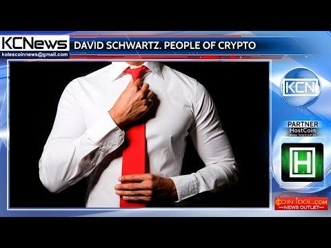 People of crypto - David Schwartz