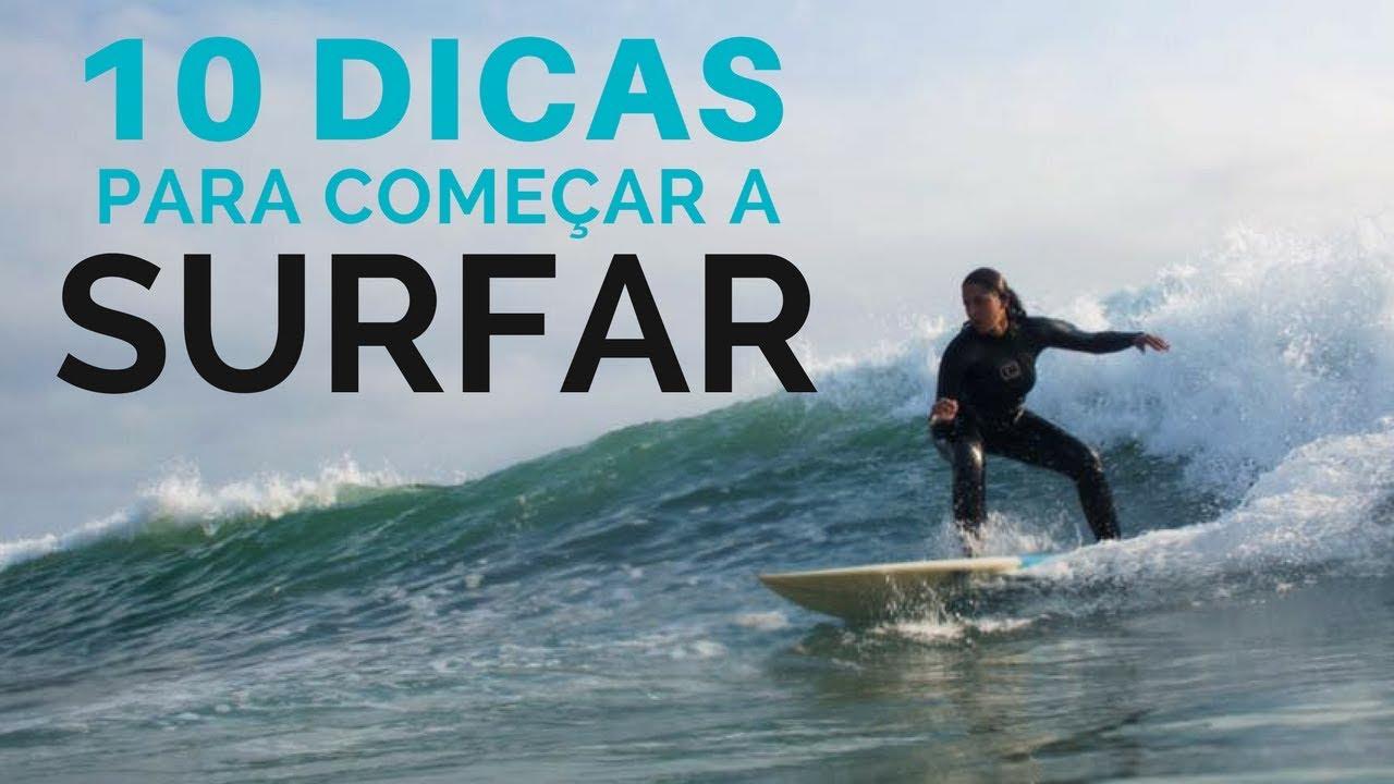 10 DICAS PARA COMEÇAR A SURFAR #MaréAltaDicas