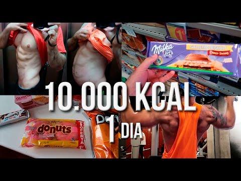 EL RETO DE LAS 10.000 KCAL | 10000 KCAL EN UN DIA