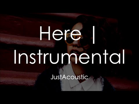 Here - Alessia Cara (Acoustic Instrumental)