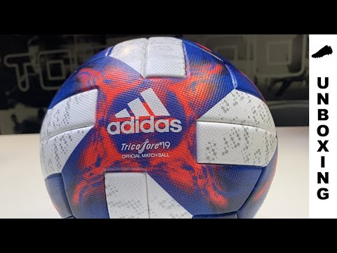 adidas Official Match Ball Women's World Cup 19 Knockout stage - White/Football Blue/Solar Red