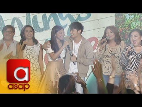 "ASAP: 'On The Wings Of Love' cast sing ""Ligaya"" on ASAP"