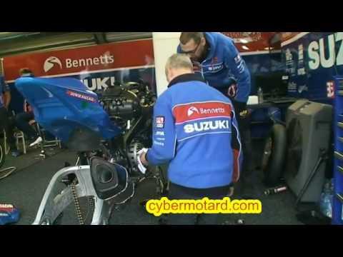 Rencontre avec Sylvain Guintoli en British Superbike