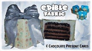 Gambar cover Edible Fabric | Chocolate Present Cakes