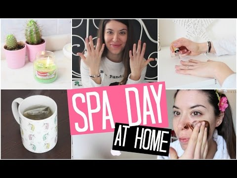 SPA DAY AT HOME // SPA IN CASA FAI DA TE | Adriana Spink