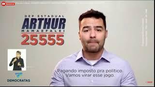 Arthur Mamãefalei 25555 deputado estadual - Propaganda politica 19/09/2018
