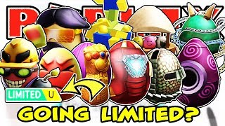 WILL EGG HUNT EGGS GO LIMITED IN ROBLOX?!