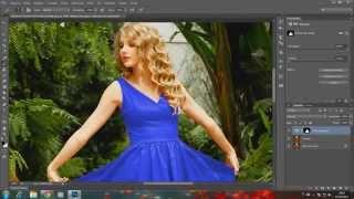 Mudar a cor da roupa com photoshop cc 2016