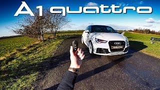 audi a1 quattro abt review pov test drive by autotopnl