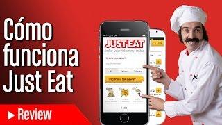 Cómo funciona la aplicación Just Eat para pedir comida a domicilio