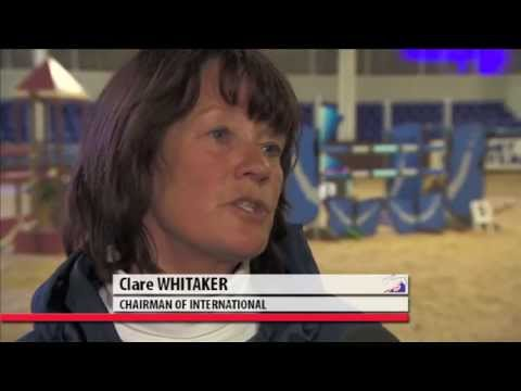 Showjumping Clare Whitaker on Viewing Trials at Wales & West