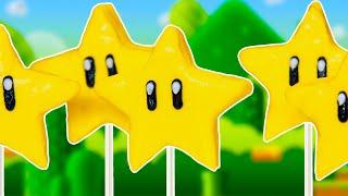 MARIO STAR RICE KRISPY POPS - NERDY NUMMIES