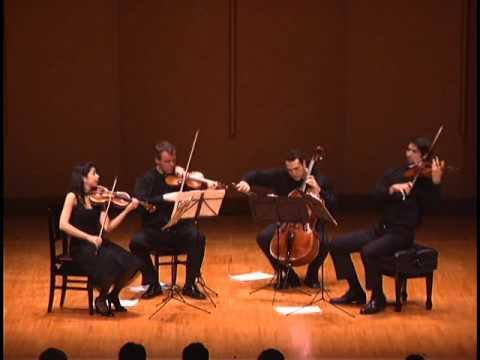 Pacifica Quartet - Elliott Carter String Quartet No.5