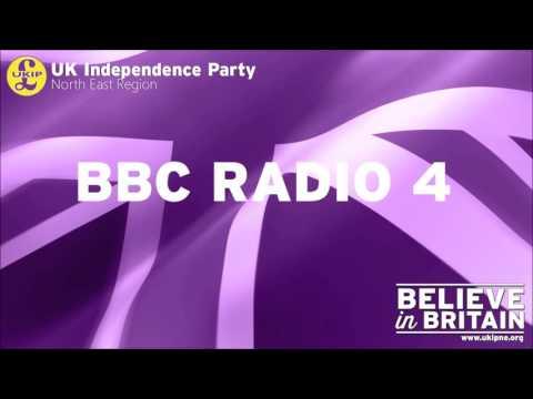 Jonathan Arnott MEP appears on BBC Radio 4 - Westminster Hour