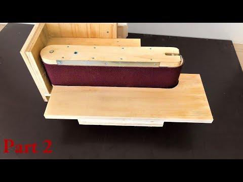 3 in 1 Sanding Station Build Part:2 (Belt Sander, Disc Sander, Edge Sander)