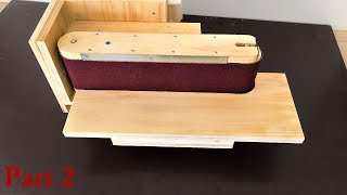 3 in 1 Sanding Station Build Part:2 (Belt Sander, Disc Sander, Edge Sander)