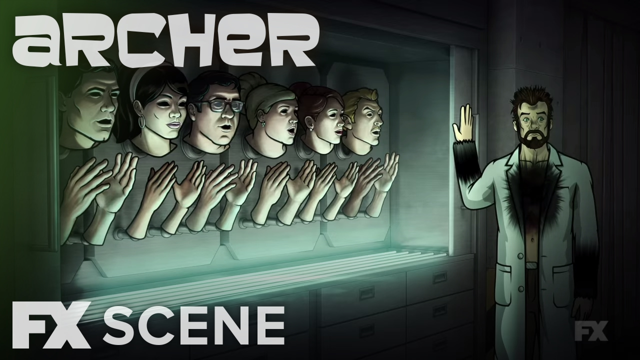 Archer season 7 ep 4 bye barry scene fx youtube - Archer episodes youtube ...