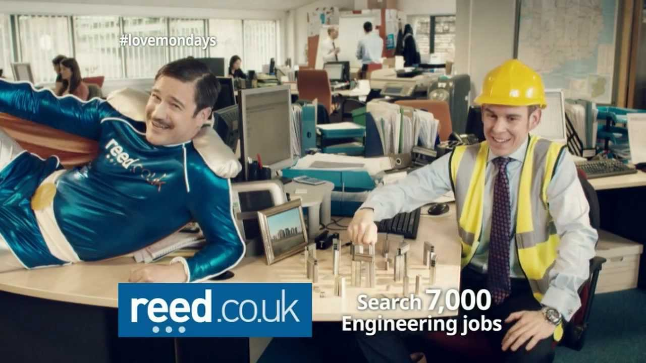 Official Reed Co Uk Tv Advert 2014 Engineering 10 Youtube