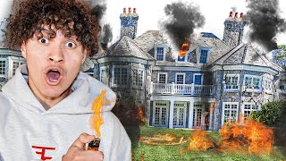 I Destroyed a Billionaire Kids House ($10,000,000)