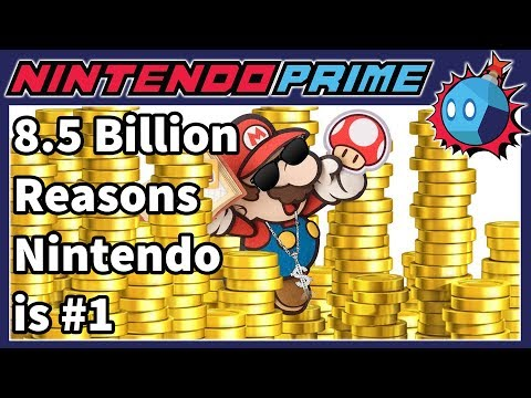 Nintendo is the Richest Company in Japan, Sitting on 8.5 BILLION DOLLARS IN CASH