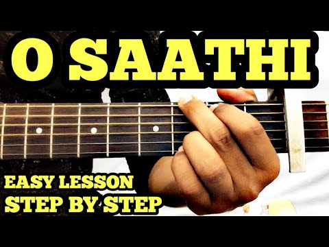 O Saathi Guitar Chords Lesson | Baaghi 2 | Atif Aslam | Tiger Shroff | Capo | FuZaiL Xiddiqui