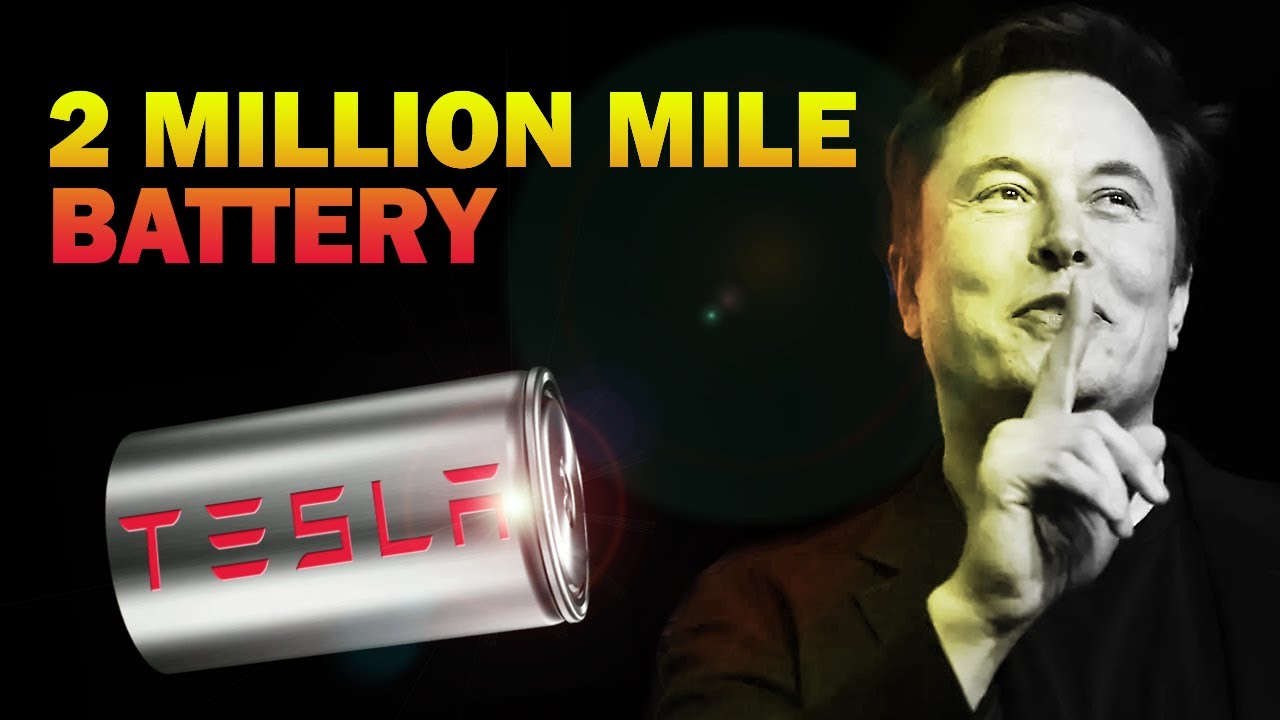 TESLA'S GAME CHANGING 2,000,000 MILE BATTERY MAY ALREADY BE HERE