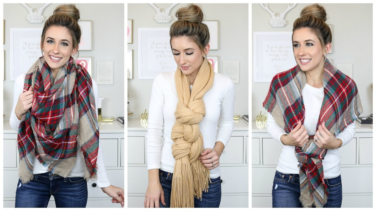 wear scarf ways