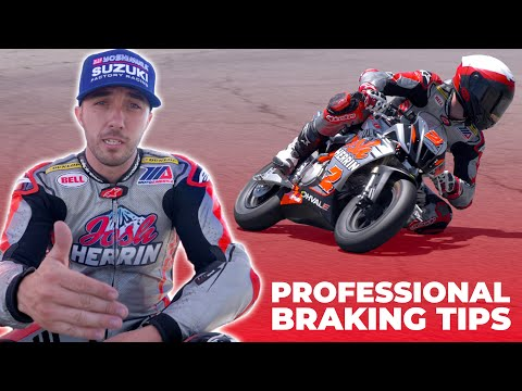 Pro Racer Explains How To Brake on a Motorcycle! (Track Day Tips #3)