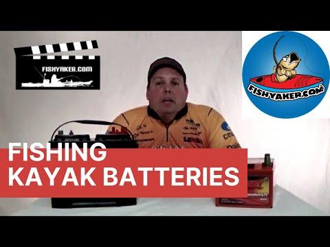 Choosing a Battery for a Motorized Fishing Kayak: Episode 175