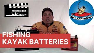 Video Choosing a Battery for a Motorized Fishing Kayak: Episode 175 download MP3, 3GP, MP4, WEBM, AVI, FLV September 2018