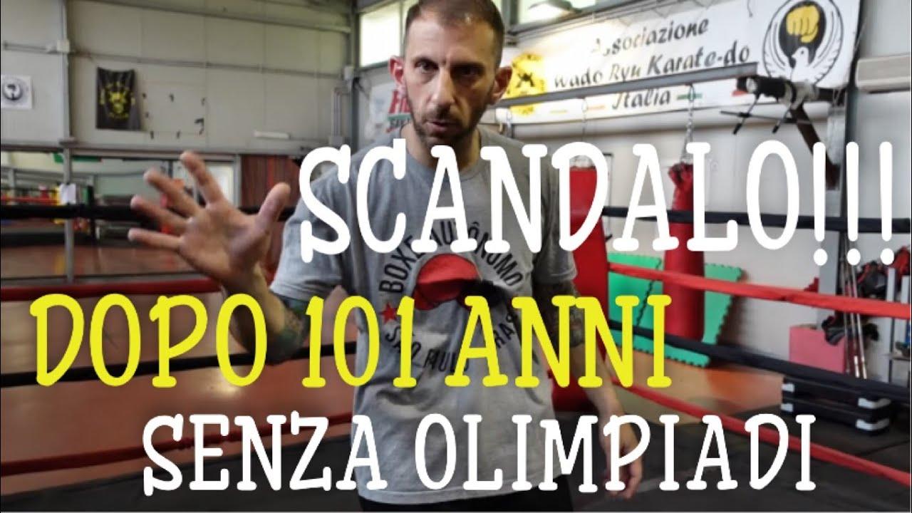 Scandalo dopo 101 anni niente olimpiadi